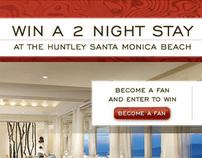 Huntley Hotel Facebook Contest Campaign
