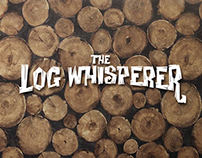 The Log Whisperer Logo & T-Shirt Design