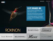 Elite Brands Website Redesign