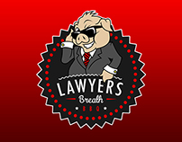 Lawyer's Breath Logo & T-Shirt Design