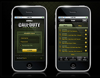 "Call Of Duty ""World At War"" IPhone Application (2010)"