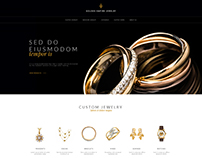 Jewelry web design