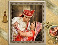 Royal wedding album design