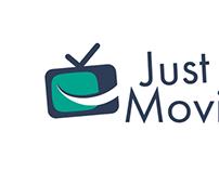 """Logo """"JustMoviez"""""""