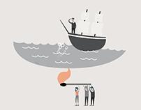 SÅDAN! Marketing - Illustration for a Book Project