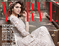Aditi Rao for the Cover of Verve. September 2014