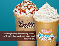 Dunkin' Donuts: Iced Coffees