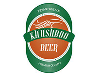"Etichetta Birra ""Khushboo"""