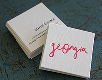 Georgia Mather Business Cards