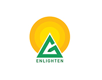 Enlighten Preschool Logo Design