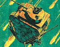 La Peste Magazine - Cover illustration