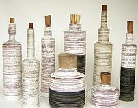 Stonestripe Bottle Vases
