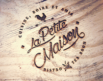 Study of brand for bistrot tea room | La Petite Maison