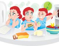 Cartilha Orientações sobre alimentação