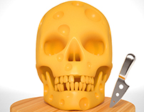 Swiss Cheese Skull