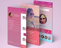 Ciwall Social App concept