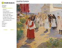 Fons d'Art Credit Andorrà - Tour Virtual