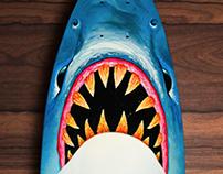 Tiburón a la vista / longboard deck