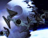 Tie Interceptor iPad (Star Wars)
