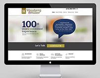 Weisberg & Miller Law Firm Website
