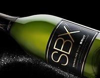 SBX Sparkling wine / redesign