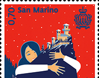 San Marino Stamps Series
