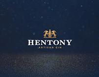 HENTONY artisan gin - logo