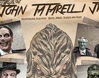 """The Art of John Tatarelli Jr"" magazine advertisement"