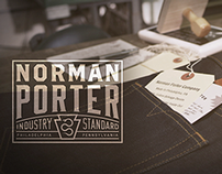 Norman Porter clothing company sizzle video