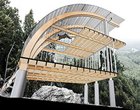 Shelter Loft Wood Framing