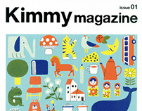 """Kimmy magazine issue 01"" Cover Illust"