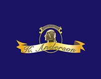 K.Anderson Tin Box