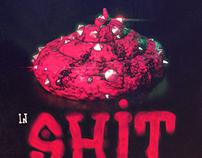 """Diamonds in SHIT"" poster"