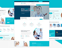 HealthClin - Medical Clinic & Hospital PSD Template