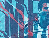 Ases de América Book - Lionel Messi