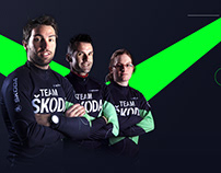 Team Skoda - Amateur Cylcing Team - Brand Content
