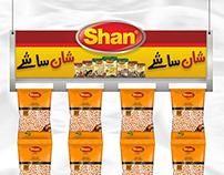 Shan Foods Branding proposal works