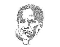Ilustración tipográfica - César Vallejo