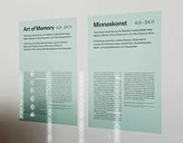 Bonniers Konsthall – Art of Memory 2013
