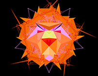 Organic Geometric - Lion