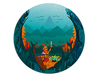 Stickers Katarakt