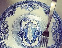 tattooed plates
