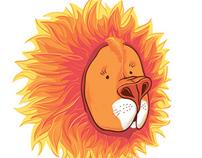 Lion - the sun)