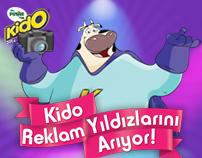 """Pınar """"Kido Reklam Yıldızlarını Arıyor"""" Microsite"""