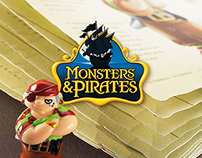 Kinder SURPRISE - Monsters & Pirates