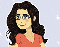 Infographic CV - Bianca Marieta professional copywriter