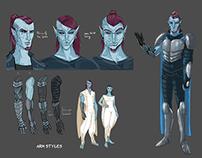 Character Design - Nuada [ unison ]