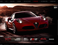Alfa Romeo 4C website