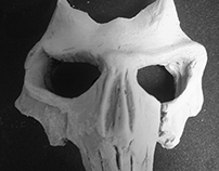 pottery skull