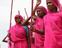 Gulabi Gang Distribution Projects